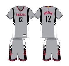 Houston Rockets Alternate Uniform 2016- Present Houston Rockets 3bee9599b