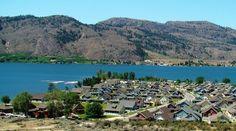 Veranda Beach, Lake Osoyoos, Washington USA - lakeside cottage and vineyard resort.  The location of our wedding festivities!