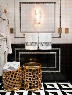 Black, Gold & White | by jamie herzlinger
