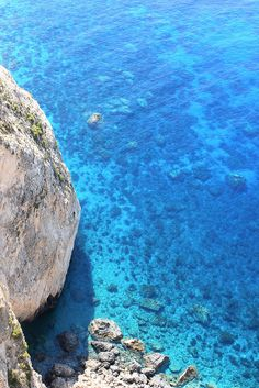 Turquoise waters of Zakynthos, Greece