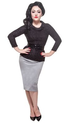 Miss Ruth top in false eyelash black boucle! Grab yours today at www.modemerr.com!
