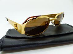 Genuine Rare Vintage Gianni Versace Medusa Sunglasses Mod S78 Col 030 *NOS* by VSOx on Etsy