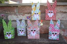 Easter basket made with Tetra pak