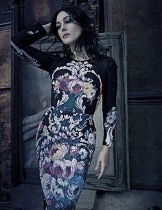 Monica Bellucci by Paolo Roversi for Vogue Italia - Aeptember 2012 Alta Moda: Dolce & Gabbana
