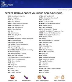 Do YOU know the secret sexting codes your children are using? #dailymail