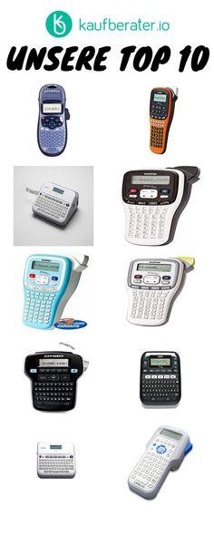 Die besten Beschriftungsgeräte im Test, Vergleich & Ratgeber. Too Busy