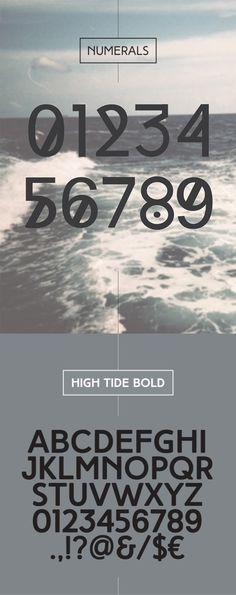 High Tide Font Free Download