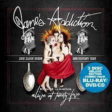 Jane's Addiction - Alive At Twenty-Five: Ritual De Lo Habitual Live Colored Vinyl LP February 14 2020 Pre-order Biffy Clyro, Jane's Addiction, Asking Alexandria, Joy Division, Bon Jovi, Perry Farrell, Dave Navarro, Video Cd, Musik