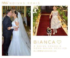 Bianca #eusounovanoiva #noivasreais #vestidosdenoiva #noiva #bride #weddingdress #weddingdresses #casamento