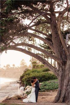 Glamorous gluten free wedding at The Four Seasons Santa Barbara. #weddingchicks Captured by: Heather Elizabeth Photography http://www.weddingchicks.com/2014/08/14/glamorous-gluten-free-wedding/