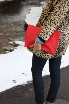 leopard + red