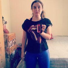 Acordei com pique pro exercicio! Olha que bonita a calça da Walk Run! Tem na Paqueta Esportes. :) #projetonathygostosa #nathyfininha2014 #fitness #esporte #walkrun #paquetaesportes