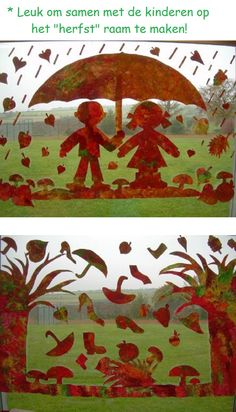Simple decoration idea: make colorful lanterns yourself - Diy Fall Decor Autumn Crafts, Autumn Art, Autumn Activities, Art Activities, Diy And Crafts, Arts And Crafts, Paper Crafts, Diy Paper, Decoration Creche