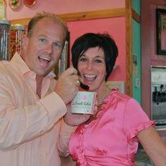 Now look how happy Sweet CeCe's frozen yogurt can make you!  :)