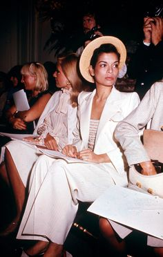 SUITED UP '70s - The '70s isn't known for its work ethic so keep your suiting dishevelled. #biancajagger