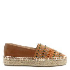Compre Alpargata Luiza Barcelos Pedraria Caramelo na Zattini a nova loja de  moda online da Netshoes
