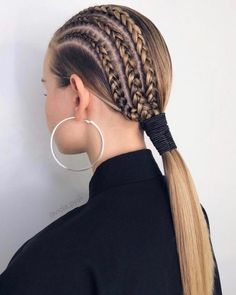 French Braid Hairstyles, Work Hairstyles, Easy Hairstyles For Long Hair, Hairstyles Videos, Super Easy Hairstyles, Curly Hairstyles, Medium Hair Styles, Natural Hair Styles, Short Hair Styles