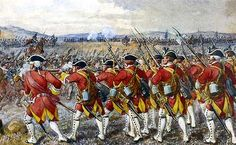 The Battle of Culloden 1746 -Munro;s Foot receives the Highland Charge