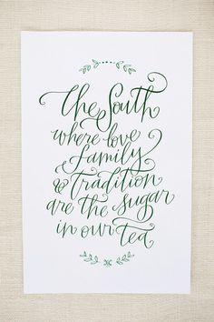 Wedding Invitations: Fall, classic, green, pastoral, tan, Wilmington, North Carolina