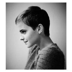 Spring Summer 2011 Short Hair Styles Cuts Emma Watson Tilda Swinton ❤ liked on Polyvore