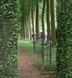 Hidcote Manor Garden so pretty and mystical