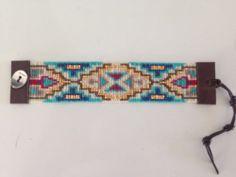 Chan Luu Turquoise Mix Beaded Cuff Bracelet | eBay