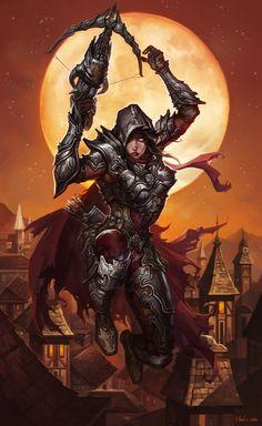 Demon Hunter by Lu Hua