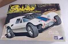 "Vintage MPC 1 20 Scale Dune Buggy Dick Deans ""Shalako"" Model Kit Open Box | eBay"