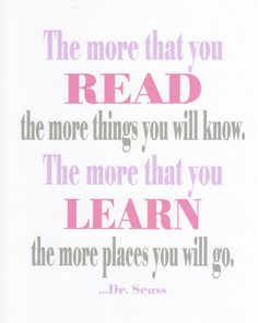 nice quote for reading nook but not digging the colors and font.