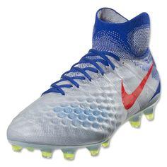 8ed18216da49 Nike Women s Magista Obra II FG (Pure Platinum Bright Crimson) Soccer  Equipment