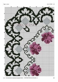 Cross Stitch Borders, Cross Stitch Designs, Cross Stitch Patterns, Dining Room Colors, Rose Bouquet, Blackwork, Needlepoint, Embroidery Designs, Diy And Crafts