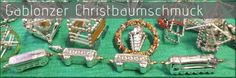 Alter Gablonzer Christbaumschmuck aus Hohlglasperlen - zur Bildergalerie