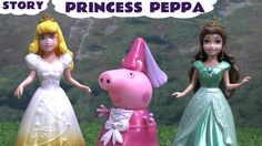 Peppa Pig Princess Play Doh Story Episode Dance Studio Sleeping Beauty P... Peppa Pig goes to the Princess dance Studio run by Princess Aurora and Princess Belle. She has a few accidents before she gets there though. #peppapig   #playdoh   #princess   #disneyprincess   #playdough   #story   #sleepingbeaty   #princessaurora   #princessbelle