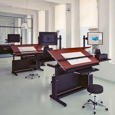 Fantoni S Hub Modular Desk Unit Acts Like A Wall Less Box