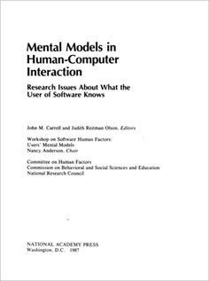 Mental Models in HCI, book, free, UI, Usability