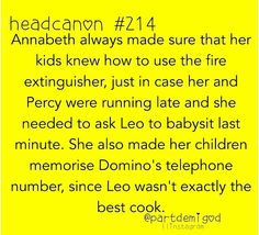 I'm not so sure about the last part, Leo is always the one making tofu tacos