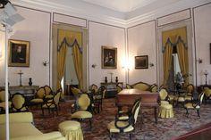 Sala de Piano do palácio de Mafra