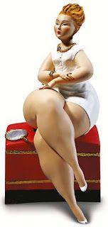 PONTO GG: Lindas esculturas para quem gosta de gordinhas