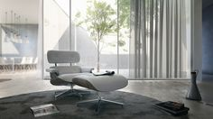 House M 3d Visualization, Egg Chair, Eames, Lounge, Architecture, Projects, Furniture, Home Decor, Airport Lounge