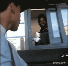 no title<<<OMG THE DRIVE-THRU WORKER'S FACE OMG