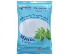 Peppermint candies for your enjoyment. This 150g package has individually wrapped product