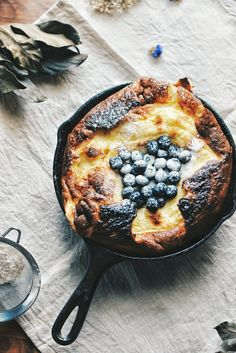 Dutch Baby: The One-Skillet Breakfast You're Not Making (Yet!) | Brit + Co