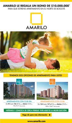 #NOVOCLICK esta con #Amarilo Alejandría #Bono de $10.000.000 para que estrene apartamento en Bogotá