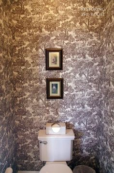 Restoring the Roost: The Powder Room