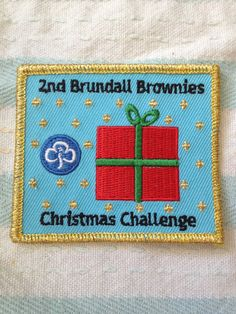We have written our Christmas Challenge full of lots of our favourite Christmas ideas and a few new ones too. Badges are £1.00 each and the money raised will be to help pay for our Big Brownie Birthday Adventure.