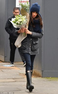 The only wellington boot fit for a Sloane is the Hunter — and Meghan has clearly done her ...