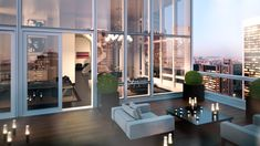 Baccarat Residences New York Penthouse Exterior View With Additional Comfortable Idea Hotel Suites New York City 2 Bedrooms Style At Home, Exterior Design, Interior And Exterior, Appartement New York, New York Penthouse, Penthouse Apartment, Dream Apartment, Apartment Goals, Sweet Home