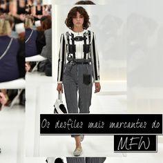 Já viram os desfiles do MFW? Veja aqui o melhor da semana de moda de Milão!