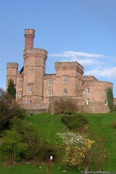 Iverness Castle in Scotland