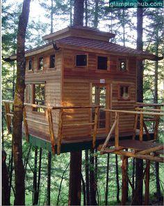 Upscale Bed and Breakfast Oregon | Luxury Camping Oregon | Tree Lodges Oregon | Camping Oregon Forests